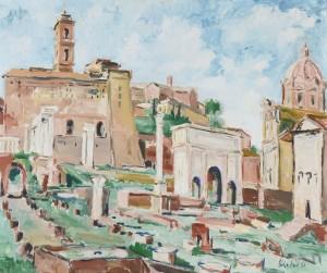 Rom - Forum Romanum ⋅ 1954 Image