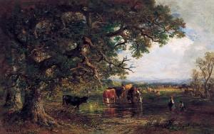 An der Tränke ⋅ um 1877 Image