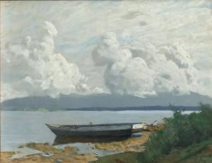 Wolken über dem Chiemsee ⋅ um 1937 Image