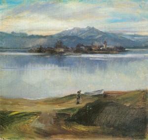 Chiemsee mit Fraueninsel ⋅ 1926 Image