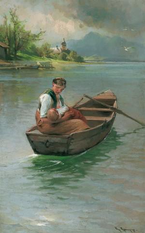Mutterglück ⋅ um 1905 Image