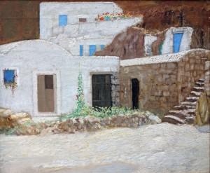 Die blauen Türen auf Ponza ⋅ 1910 Image