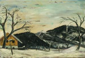 Winterlandschaft (Alzing bei Siegsdorf) ⋅ 1929 Image