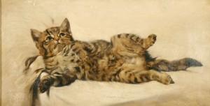 Das getigerte Kätzchen Image