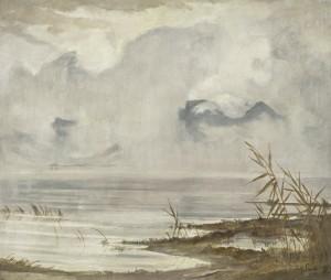 Am Chiemsee (auflösender Nebel) ⋅ 1929 Image