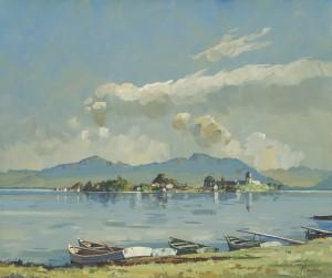 Blick zur Fraueninsel ⋅ um 1924 Image