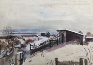 Winter in St. Pölten ⋅ 1944 Image