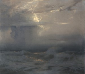 Gewitterwolken über der Nordsee ⋅ um 1935 Image