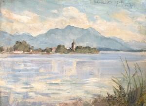Chiemsee bei Gstadt I ⋅ 1946 Image