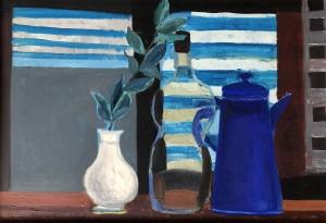 Stillleben mit blauer Kanne ⋅ 1970 Image