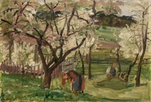 Blühender Garten ⋅ 1926 Image
