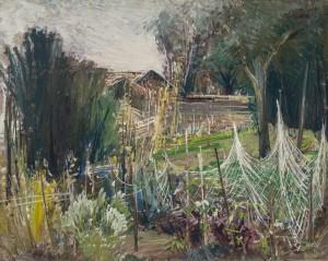 Krautgarten auf der Fraueninsel ⋅ um 1946 Image