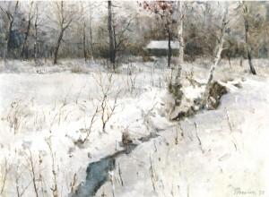 Winter im Harrasser Moor ⋅ 1993 Image