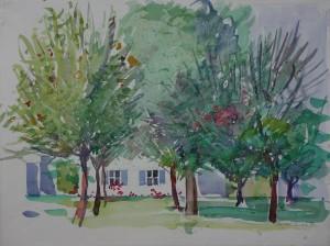 Sommergarten in Osternach ⋅ 1998 Image