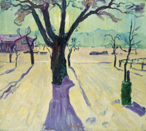 Wintersonne (Feldwies) ⋅ um 1940 Image