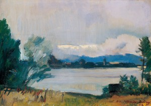 Blick zur Fraueninsel ⋅ 1923 Image