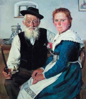 Ungleiches Paar ⋅ um 1933 Image