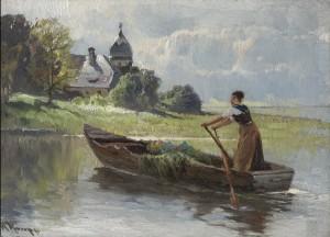 Heimfahrt ⋅ um 1900 Image