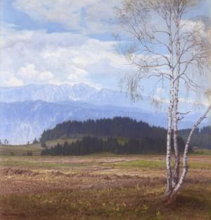 Blick auf das Kaisergebirge ⋅ 1937 Image