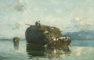 Heuschiffe auf dem Chiemsee ⋅ 1916 Image