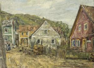 Die bunten Häuser von Kallmünz ⋅ um 1934 Image