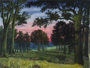 Abend im Wald ⋅ 1967 Image
