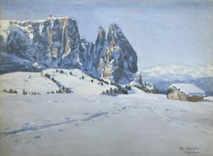 Der Schlern im Winter Image
