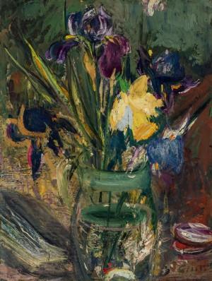 Blaue Iris und Narzisse ⋅ um 1935 Image