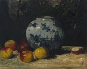 Apfel-Stillleben ⋅ um 1930 Image