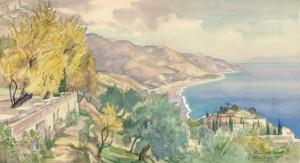 Von der Villa Eden aus (Gardasee) ⋅ 1932 Image