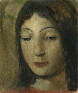 Mädchenkopf ⋅ um 1929/33 Image