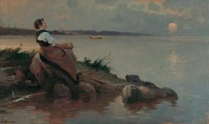 Abendstille ⋅ um 1890 Image