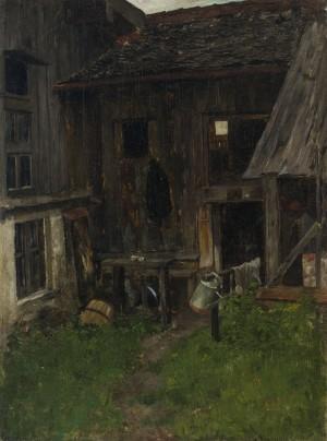 Bauernhaus in Kraiburg ⋅ 1883 Image