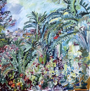 Tropischer Garten ⋅ 1970 Image