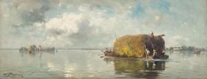 Heuschiff auf dem Chiemsee ⋅ 1914 Image