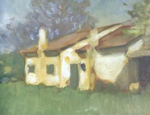 Ehemaliges Atelier von Wilhelm Leibl in Bad Aibling ê um 1925 Image