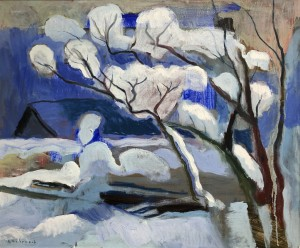 Winter vor dem Atelier ⋅ 2000 Image