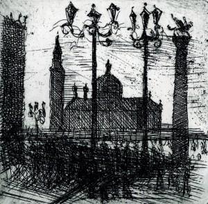 Piazzetta in Venedig ⋅ 1981 Image