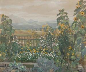 Bauerngarten ⋅ 1911 Image