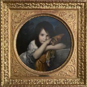 """""""Mein Liebling"""" (Hedda, Tochter des Künstlers) ⋅ um 1904 Image"""