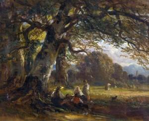 Rast bei der Ernte ⋅ um 1870 Image