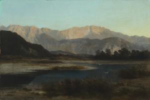 Der Inn mit Blick zum Kaisergebirge Image