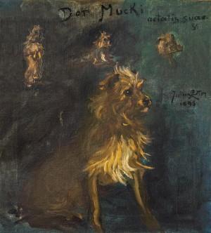"""""""Der Mucki aetatis suae V"""" (Sein Alter 5) ⋅ 1899 Image"""