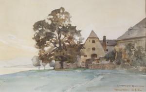 Auf Frauenwörth mit Klosterwirt ⋅ 1918 Image