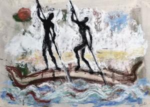 Afrikanische Fischer ⋅ um 1965 Image