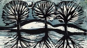 Bäume am Weiher ⋅ 1975 Image