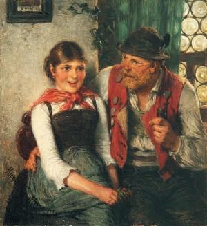 Junge Glück ⋅ 1885 Image