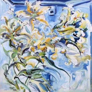 """""""Lilium Auratum"""", Lilien ⋅ 1971 Image"""
