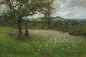 Sommertag bei Kutterling ⋅ 1904 Image