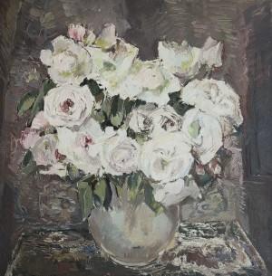 Weiße Rosen ⋅ um 1925 Image